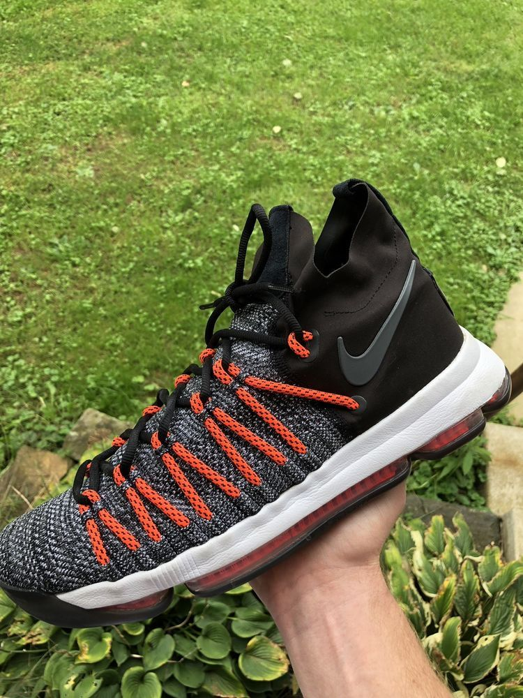 official photos 2e959 e6ecb Nike Kd 9 Elite size 11 orange grey nmd ultraboost kyrie ...
