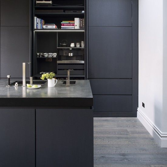 Slate Grey Kigtchen Kitchen Pinterest Slate Gray Kitchens And - Slate grey kitchen units