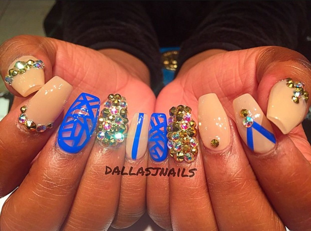 Pin by karla covarrubias on Nails How to do nails, Nails