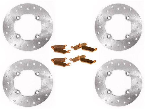 2013 2014 2015 2016 Can-Am Maverick 1000R Rear Brake Rotors Discs X2