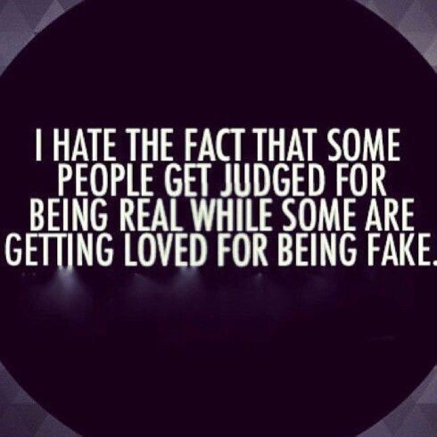 Dont Try To Be Somebody You Obviously Not Fake Family Quotes Words Words Of Wisdom