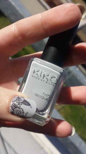 Kiko 329 And Stamping Moyou Nails