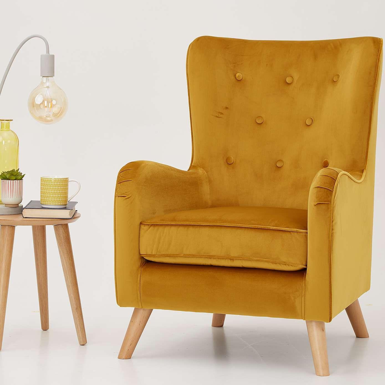 Fransen Chair Ochre Chair Living Room Chairs New