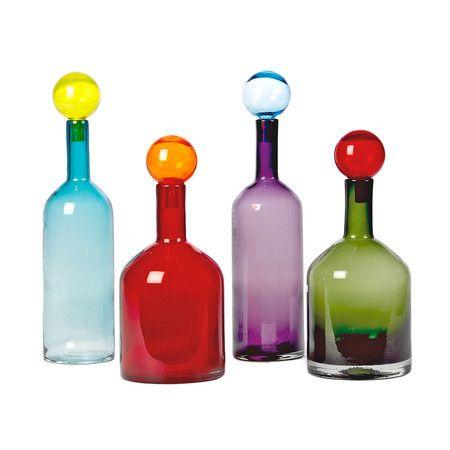 Pols Potten - Bubbles & Bottles Set of Four Glass Bottles