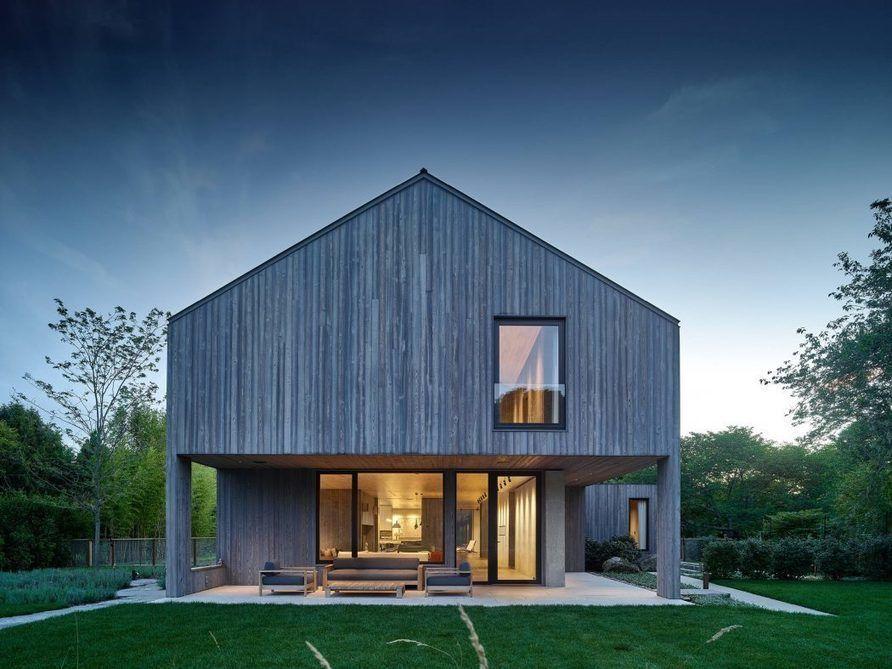 Une Maison Bois Américaine Qui Hésite Entre Chalet Et Modernisme