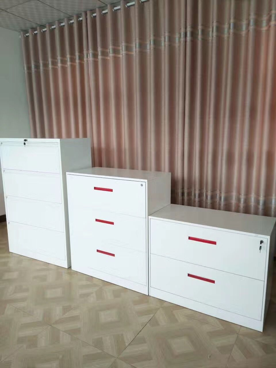 China Standard Dimensions Hoizontal Lateral Metal File Storage Cabinet Office