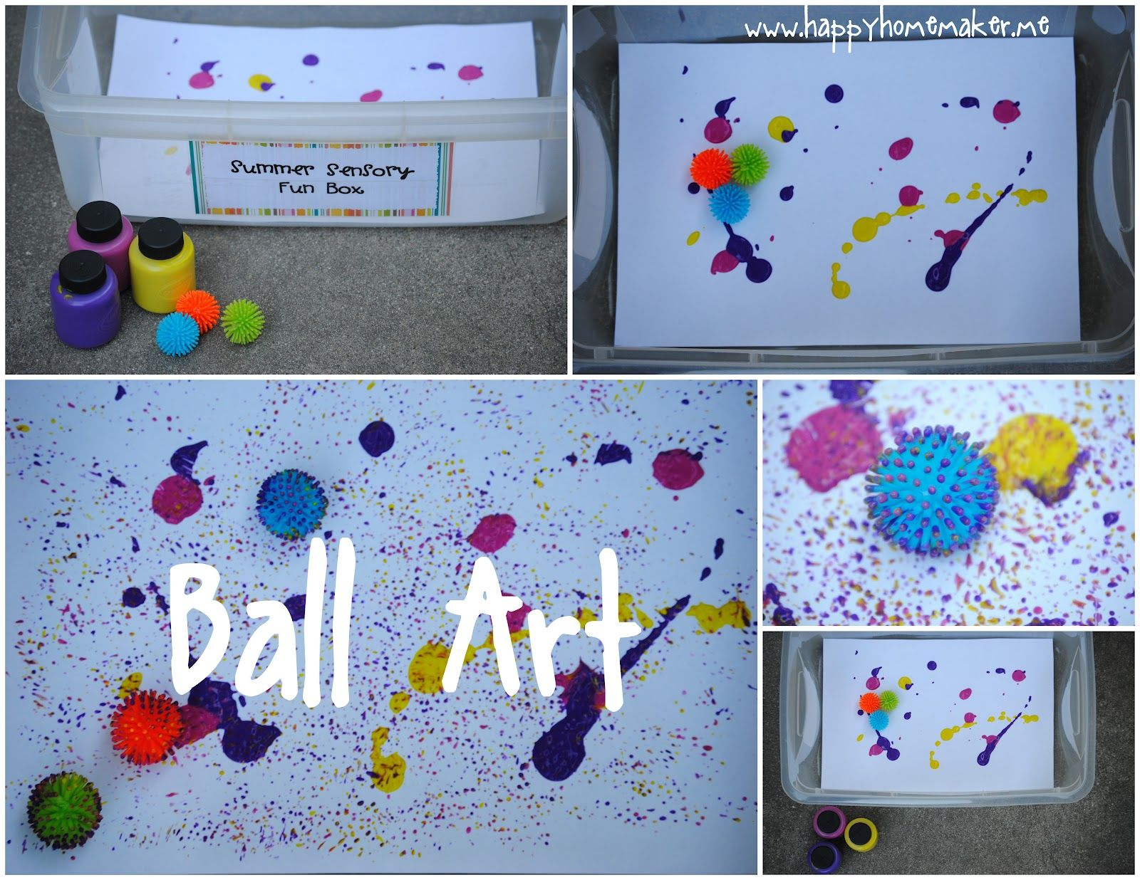 Art Ideas Preschoolers Summer Sensory Fun Series