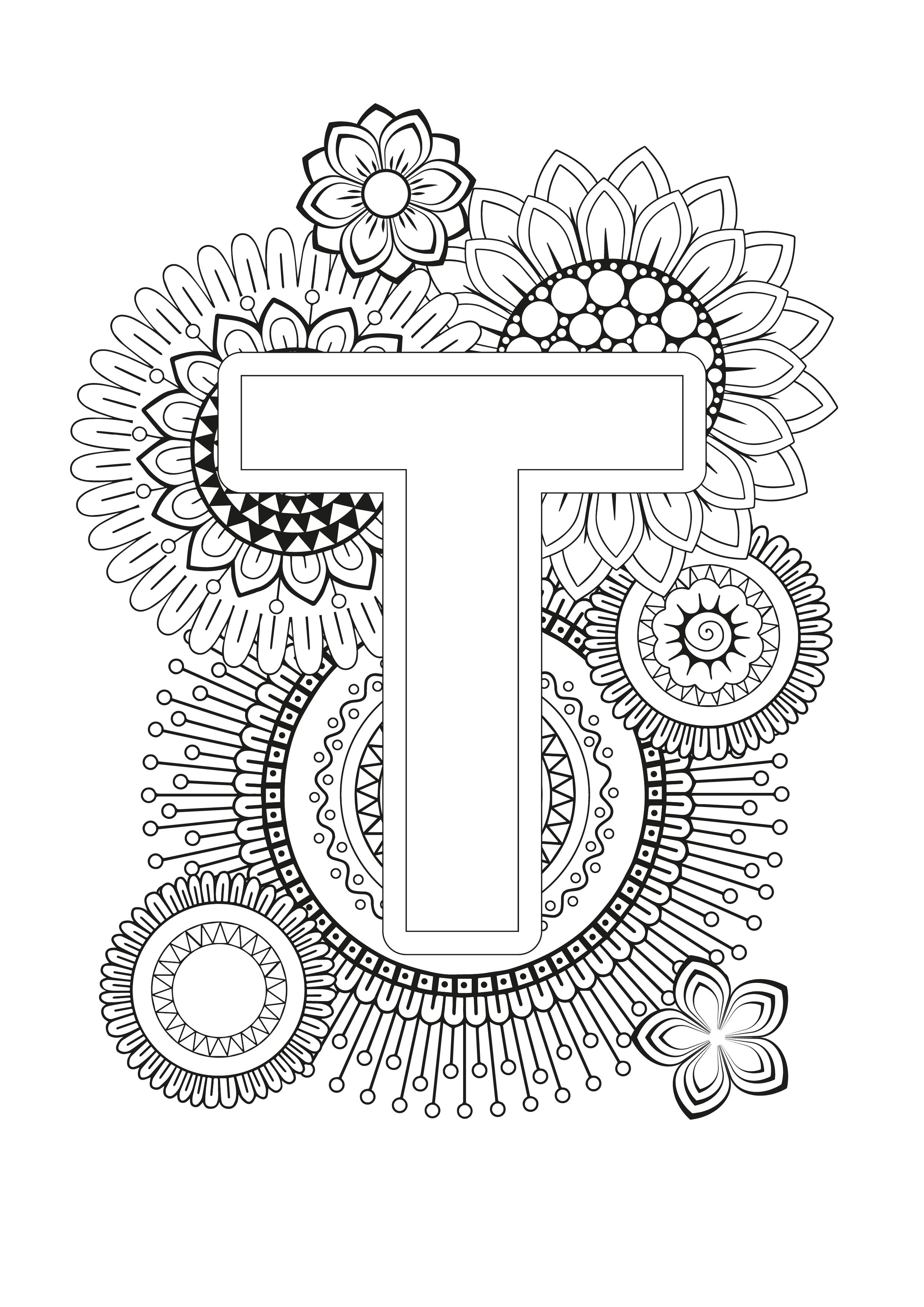 Mindfulness Coloring Page Alphabet Coloring Pages Animal Coloring Pages Coloring Books