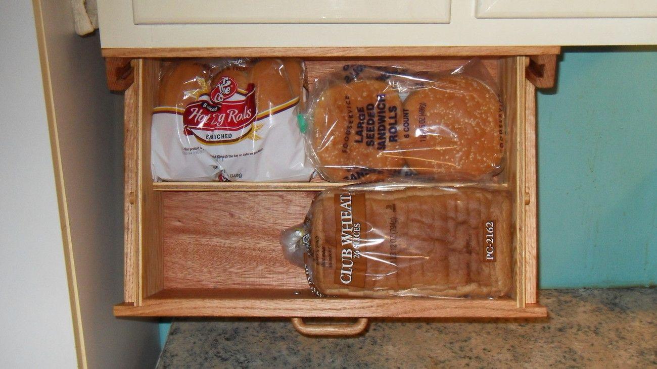 Under The Cabinet Bread Storage Bread Storage Under Cabinet