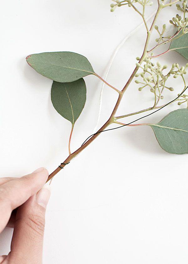 Diy Eucalyptus Garland
