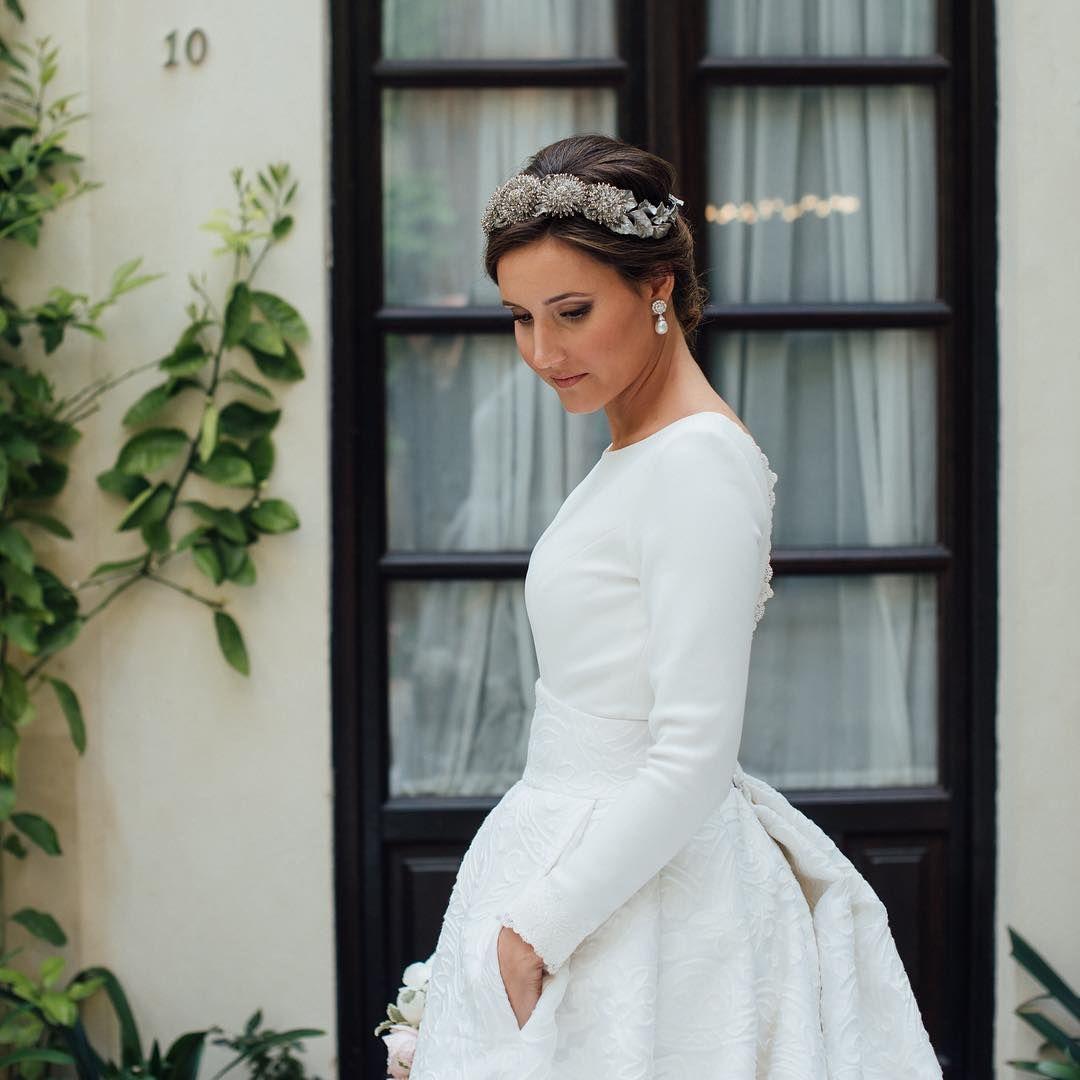 Vintage Wedding Dresses Glasgow: Mercedes No Deja De Encantarnos Con Su Belleza Y Elegancia