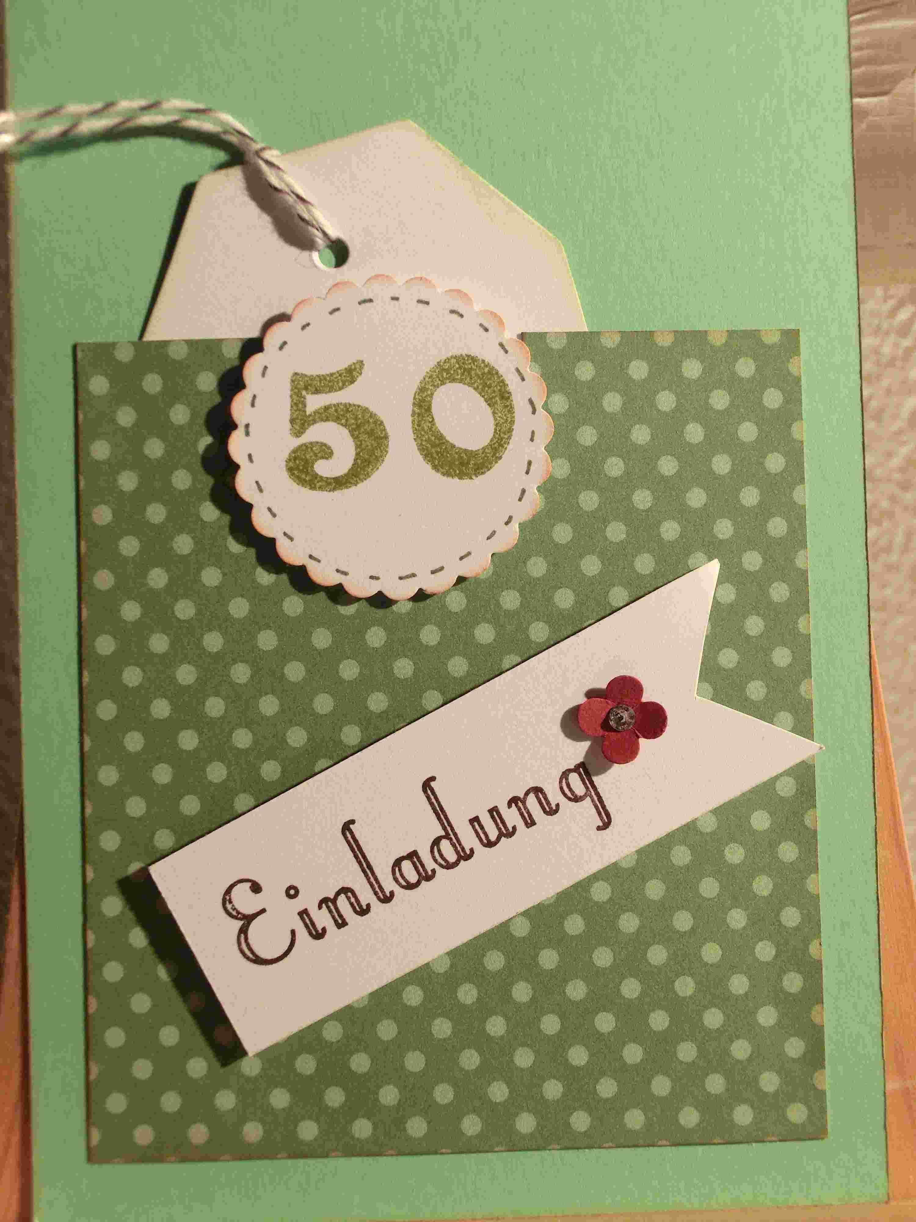 Einladung Zum 50 Geburtstag Einladung 50 Geburtstag