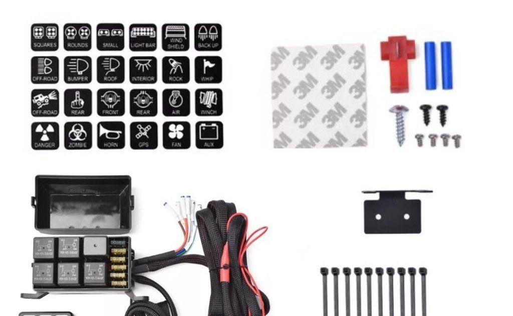 U Con 2 0 Pdm Relay Switch Panel Mounting Brackets Plugs Kwikwire 14 Circuit Universal Vehicle Wiring Kit In 2020 Fuse Panel Electric Bike Conversion Car Electronics