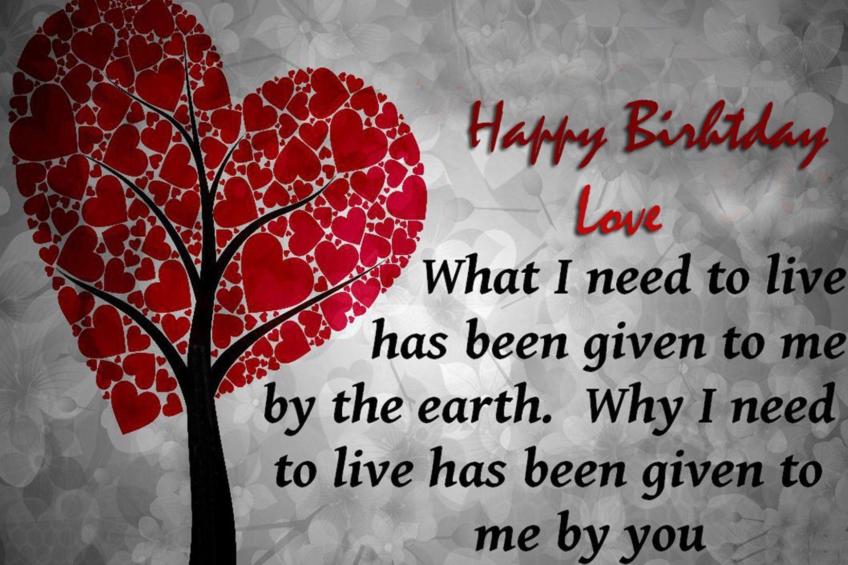 Happy Birthday My Love Birthday Cards And Wishes Happy Birthday