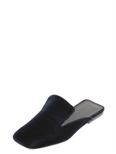 Jil Sander Velvet flat mules Discount 100% Guaranteed Discount With Mastercard For Sale Cheap Price XZkcQdl3Yq