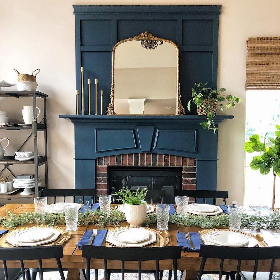 This Home S Diy Farmhouse Decor Is A Pinterest Worthy Dream Diy Farmhouse Decor Wooden Accent Wall Farmhouse Decor