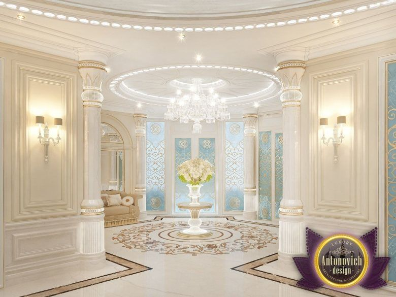 Foyer Decor Dubai : Luxury villa design in dubai from katrina antonovich