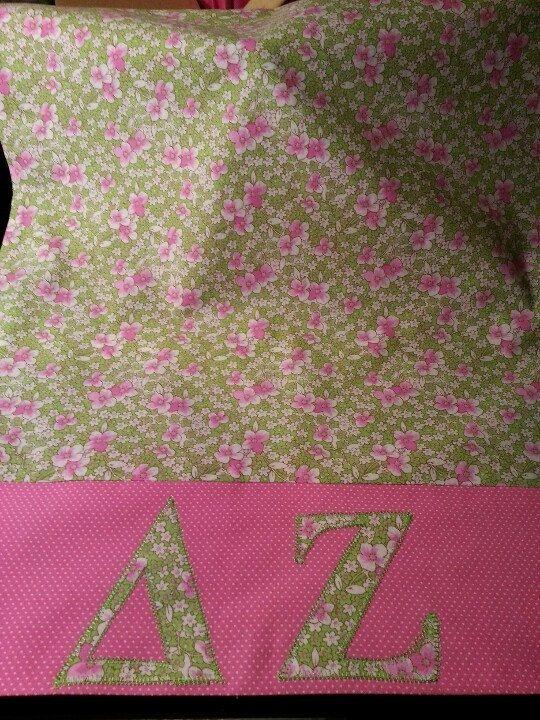 Pillow case - sorority Delta Zeta DZ