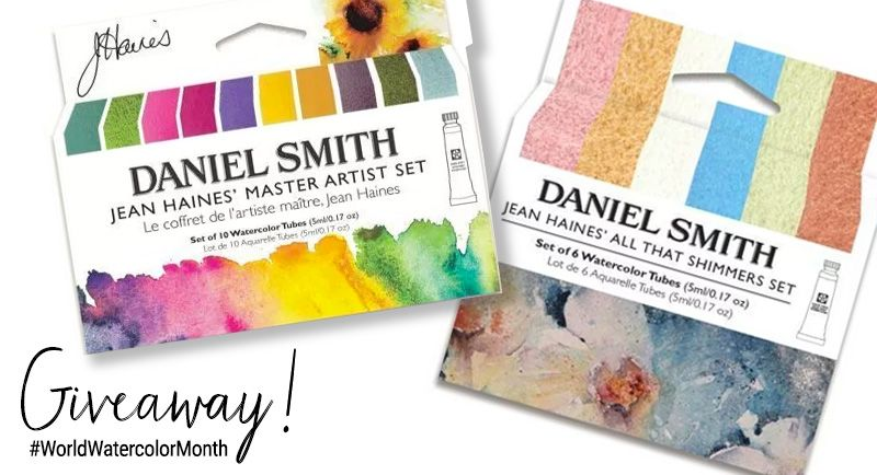 Daniel Smith World Watercolor Month Giveaway Art In 2019 Will