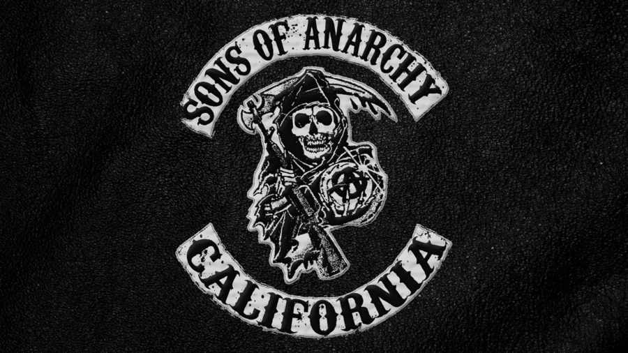 Sons Of Anarchy Simple Hd Wallpaper By Goro85 On Deviantart Sons Of Anarchy Sons Of Anarchy Costume California Logo