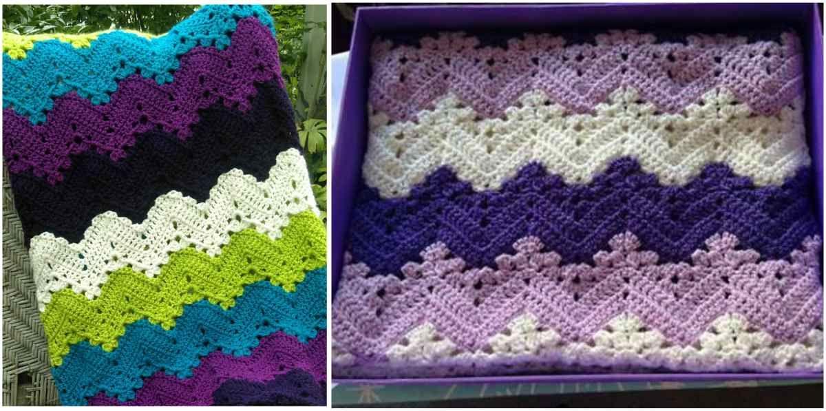 6-Day Kid Crochet Blanket - Free Pattern   Tejido