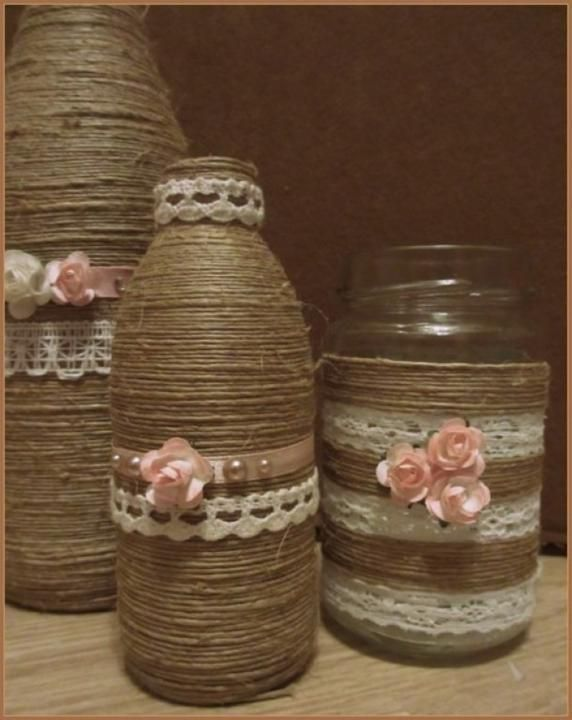 How To Decorate Old Bottles The Possibilities With Old Jars And Bottles Are Endless  Diy And