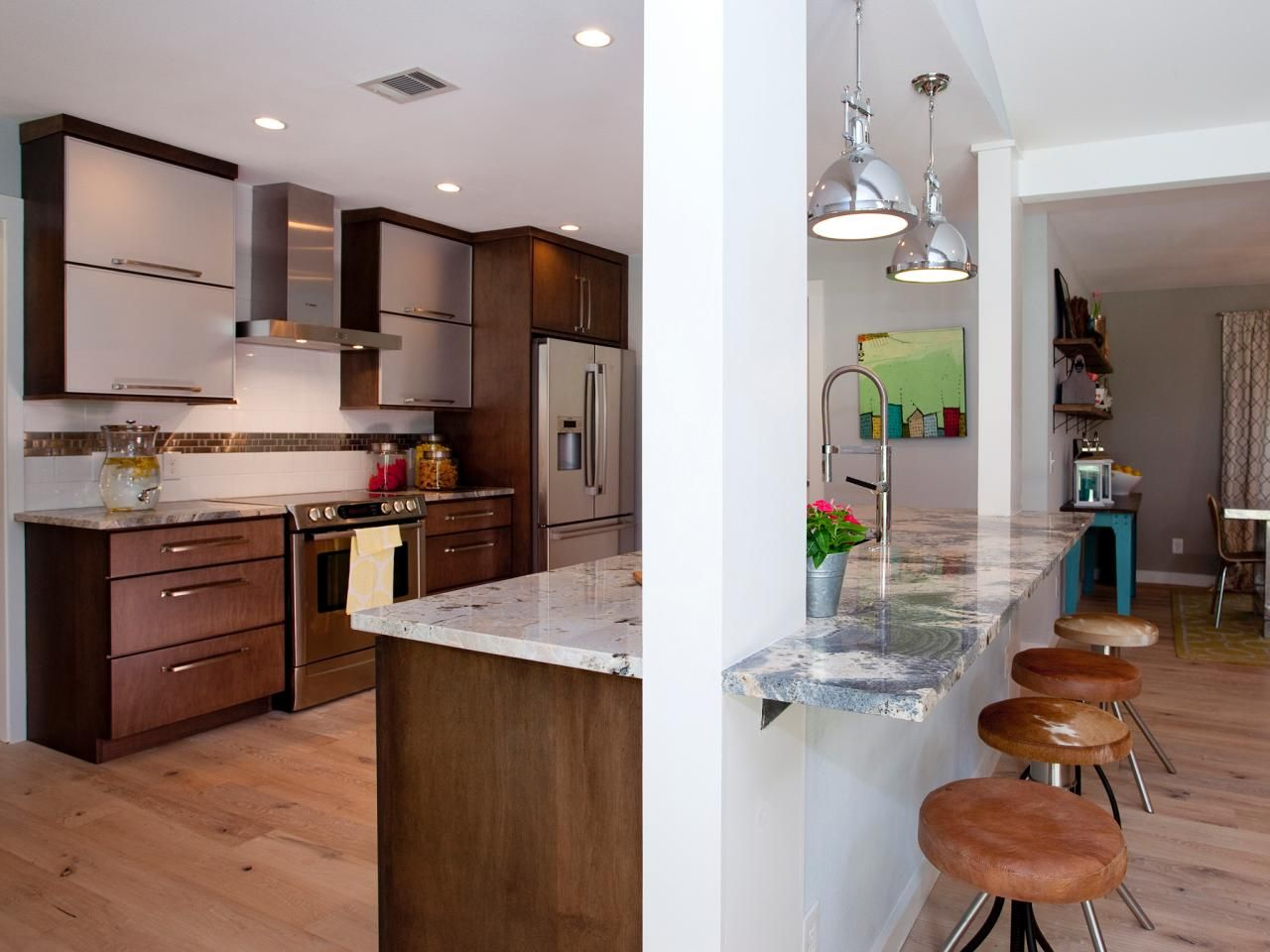 Best Kitchen Countertop Pictures Color Material Ideas Hgtv Kitchens And Maple Cabinets