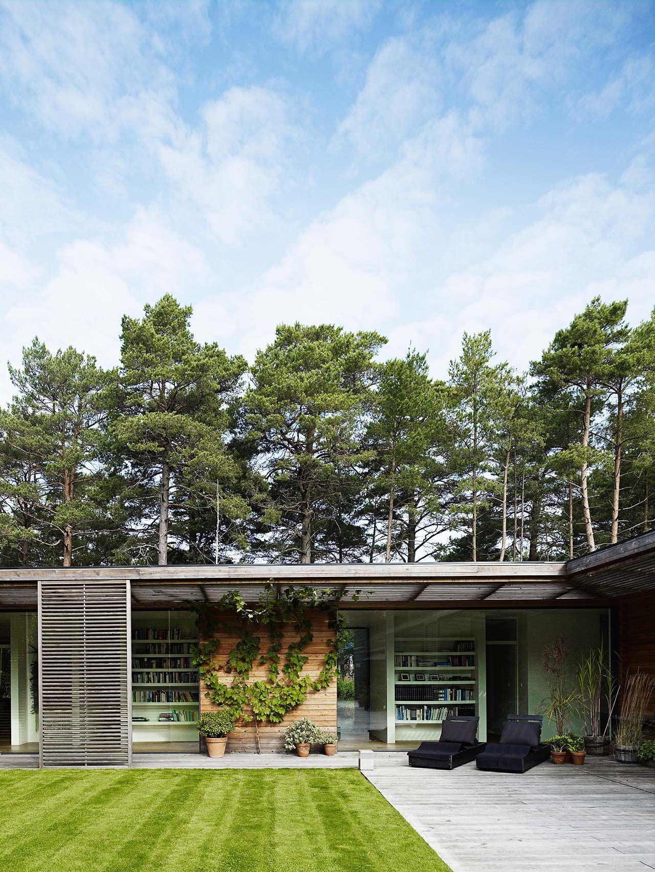 johan sundberg arkitektur / villa bergman-werntoft, mossvägen 3 ...