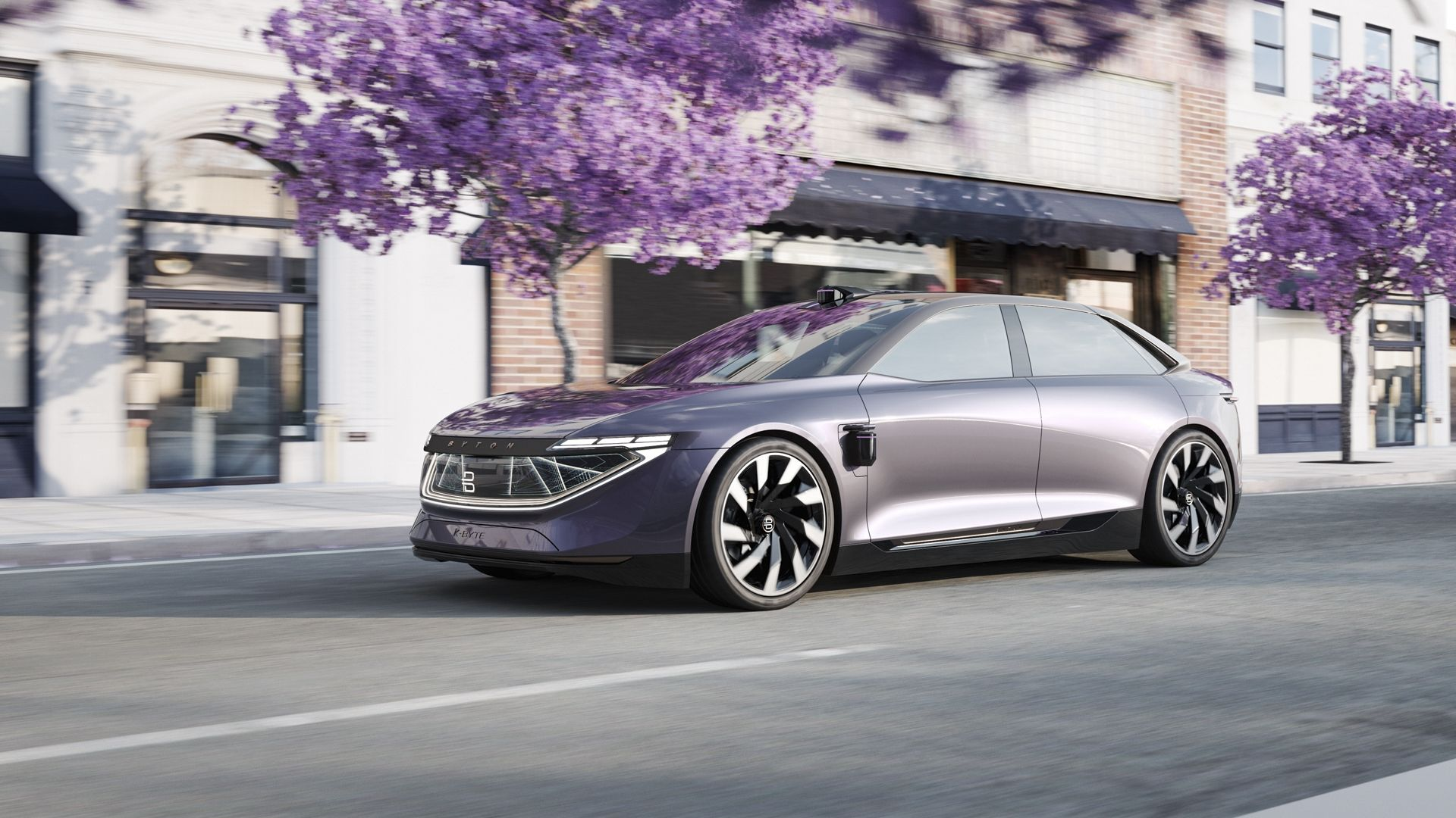 2018 Byton K Byte Concept Top Speed Electric Cars Tesla Car Suv Models
