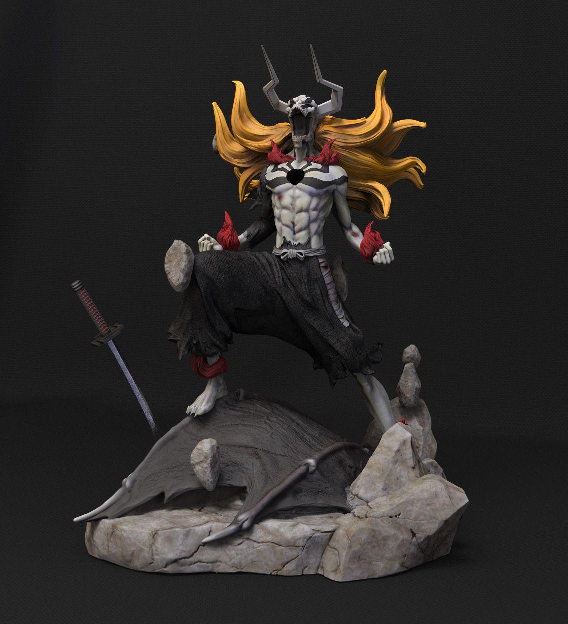 Kurosaki Ichigo Hollow. 3D Figure Barrus Studio Figura