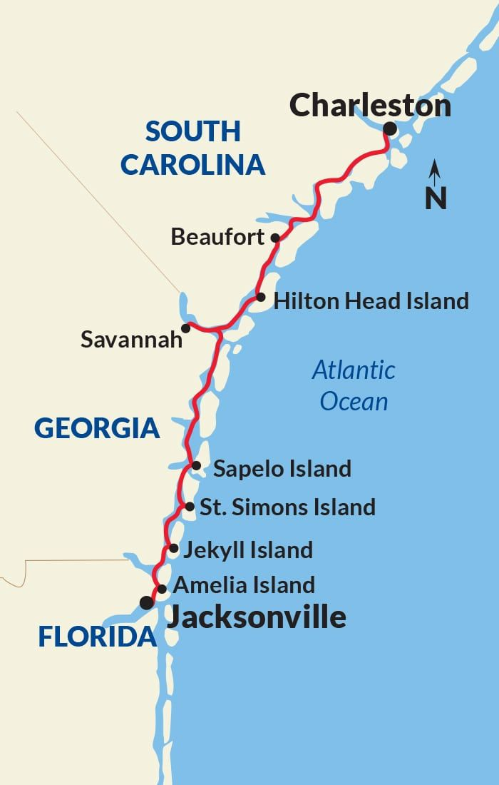 Historic South Golden Isles Cruise From Charleston To - Jacksonville cruises