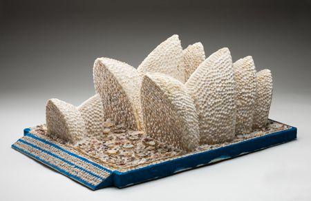 Scale model of sydney opera house