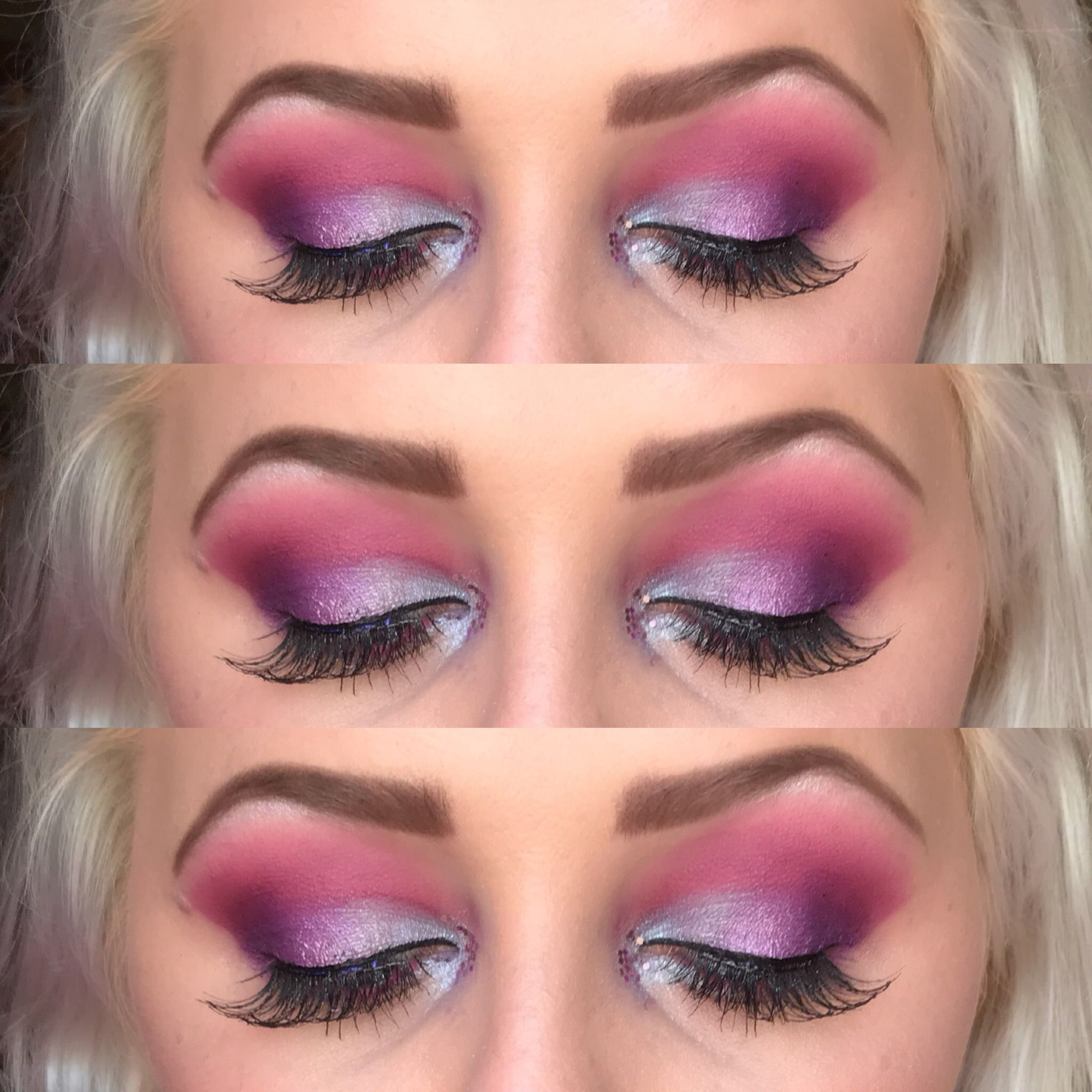 Cotton Candy Eye Makeup Eye Makeup Eye Makeup Makeup Makeup Looks