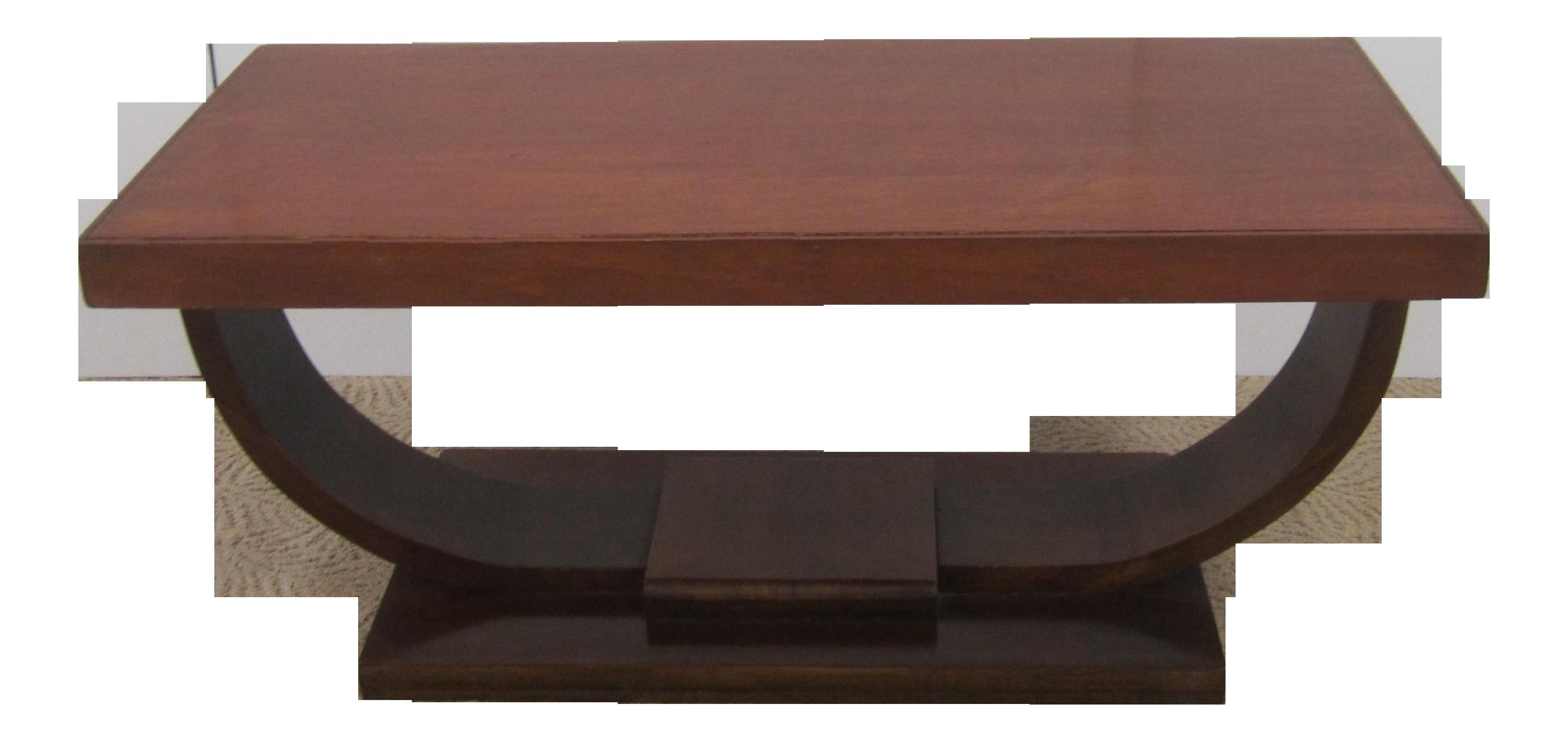 1940s Art Deco Coffee Table on Chairish