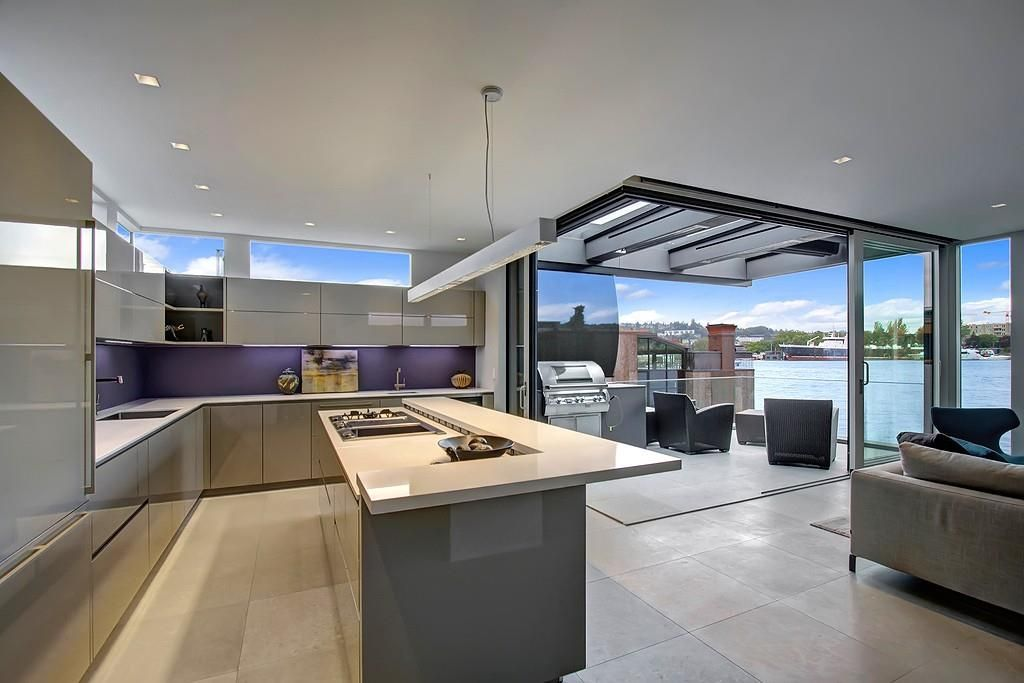 Floating Home Interiors For West Coast Living West Coast Home