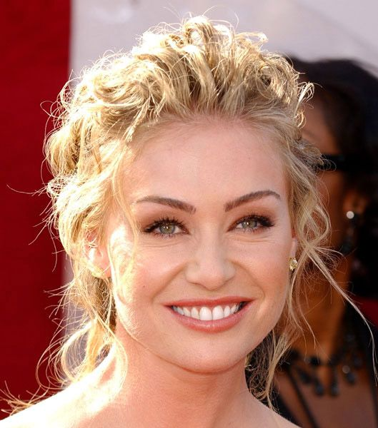 Portia De Rossi Wedding Hair