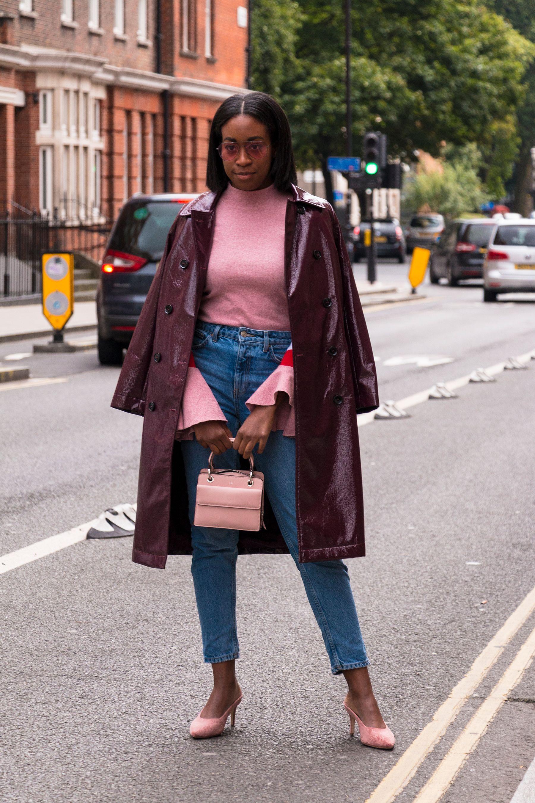 London Fashion Week Street Style Spring 2018 Glamour Oh City Pinterest London Fashion