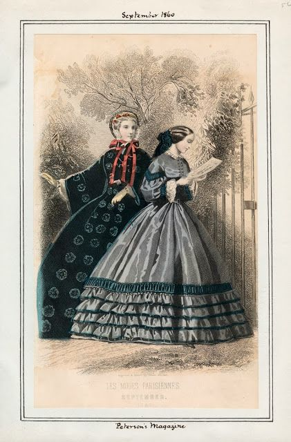 In The Swan S Shadow Peterson S Magazine September 1860