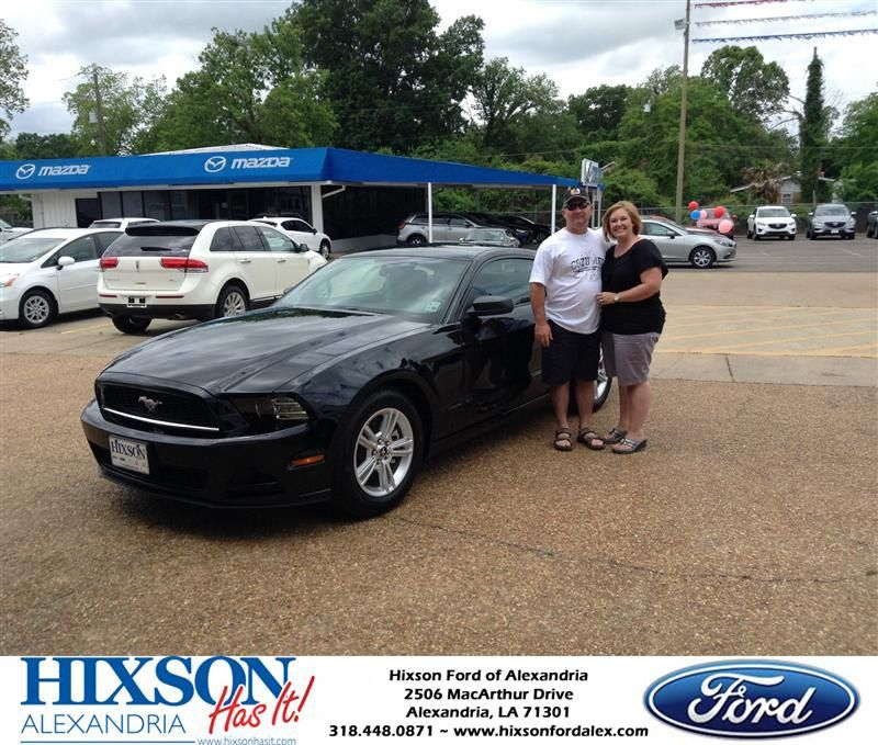 Congratulations To Sasha Sikes On Your Ford Mustang Purchase