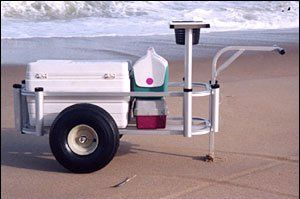 Fish n Mate Sr Pier and Beach Cart - Anglers Pier Cart 143, Fishing Accessories