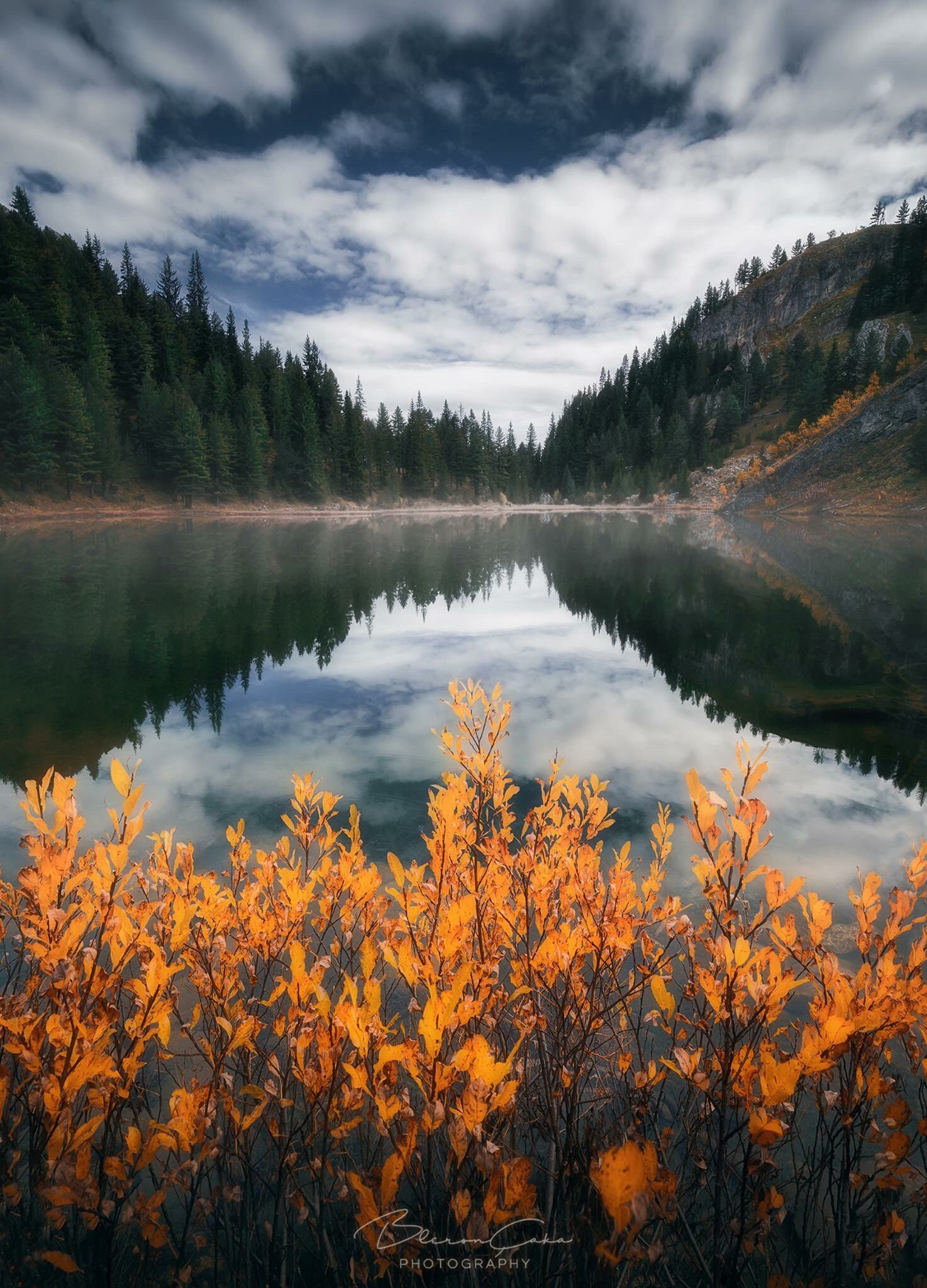 Fall time in Kuqishte Lake, by Bleron Çaka... (With images ...
