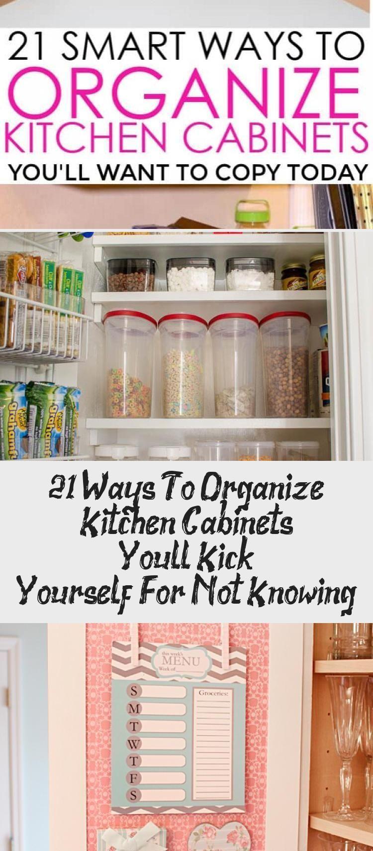 21 ways to organize kitchen cabinets you will do it yourself cabinets kitch cabinets in on do it yourself kitchen organization id=74523