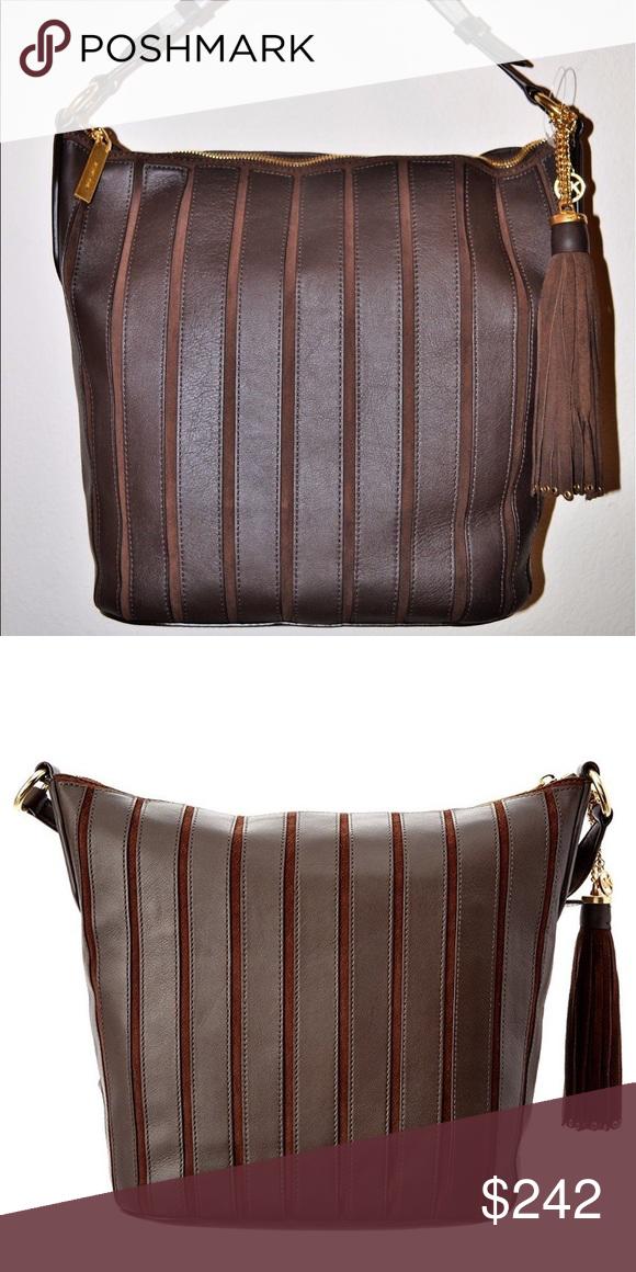 Michael Kors Large Brooklyn Applique Hobo Bag NWT   Hobo bags ... 5d88bafbfb