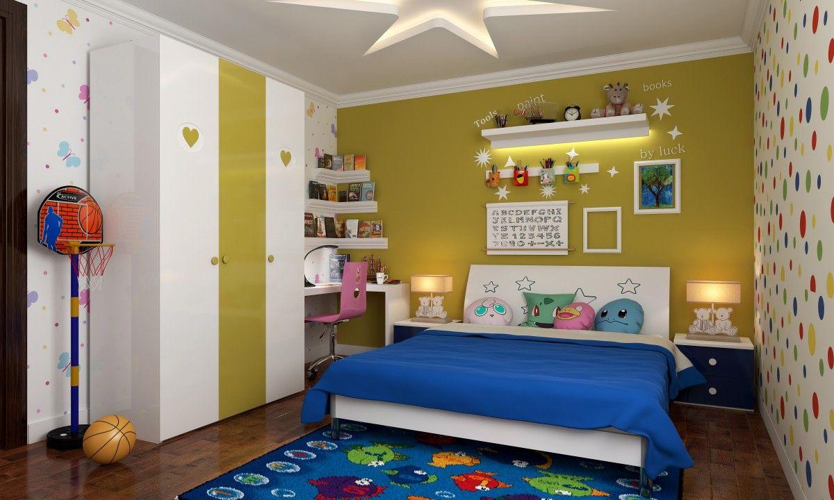 Livspace.com  Kids interior room, Simple kids bedrooms, Kids room