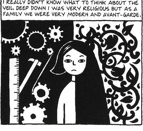 Persepolis Marjane Satrapi Illustration Children Illustration Writing Comics
