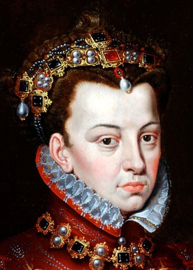 Elisabeth of Valois (1545-1568), Queen of Spain, (detail).