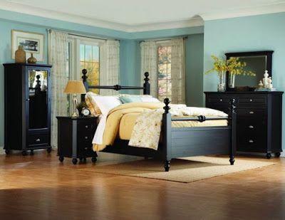 Black bedroom with Black furniture My board Bedroom, Black