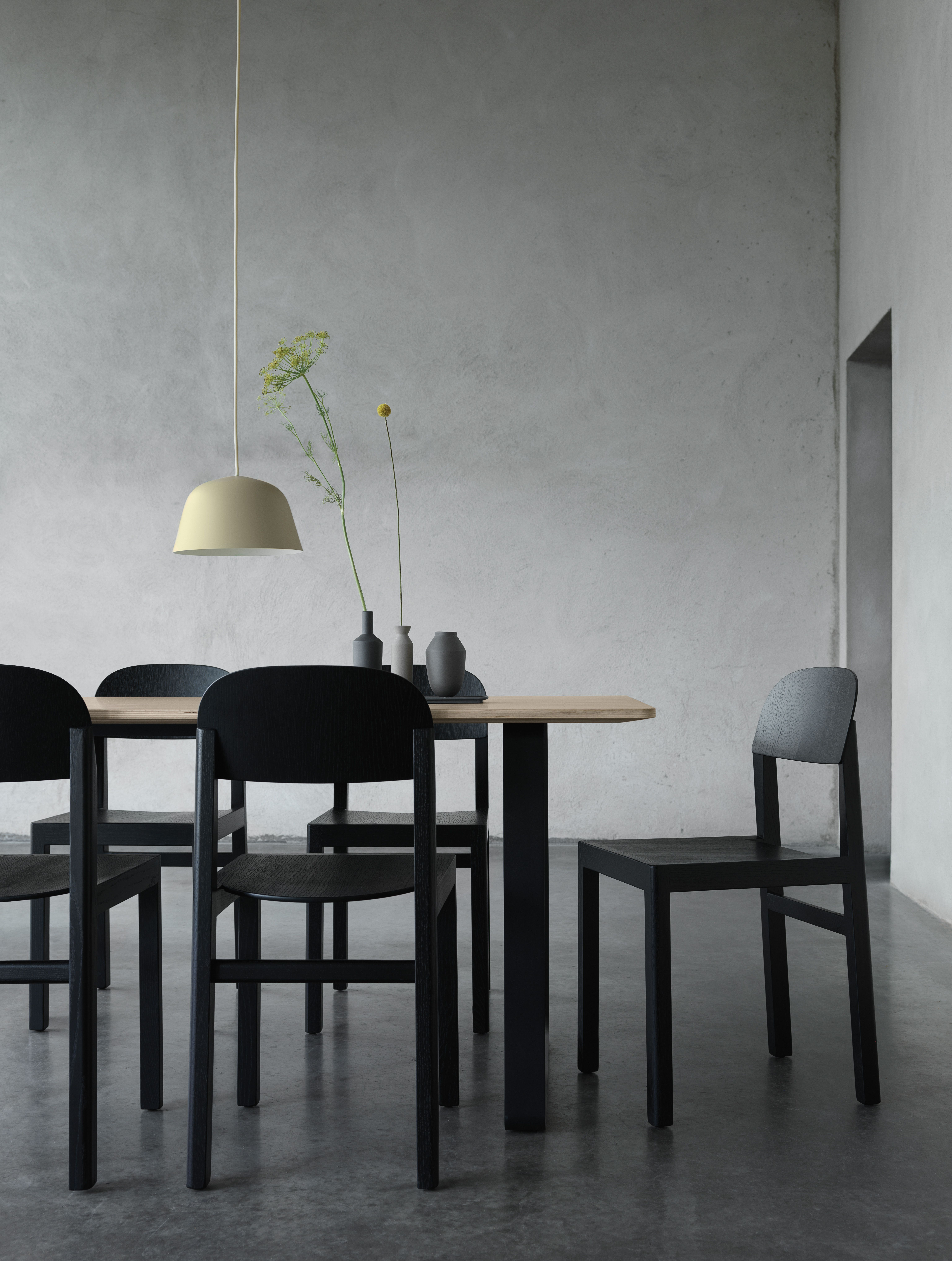 Good Scandinavian Interior Design With The Workshop Chair, 70/70 Table, Ambit  Pendant Lamp Awesome Ideas