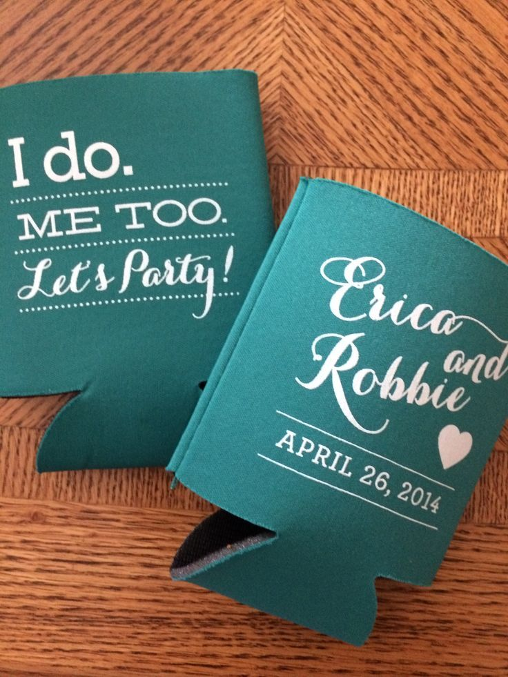 Totally Wedding Koozies.Totally Wedding Koozies Meghivo In 2019 Wedding Wedding Koozies