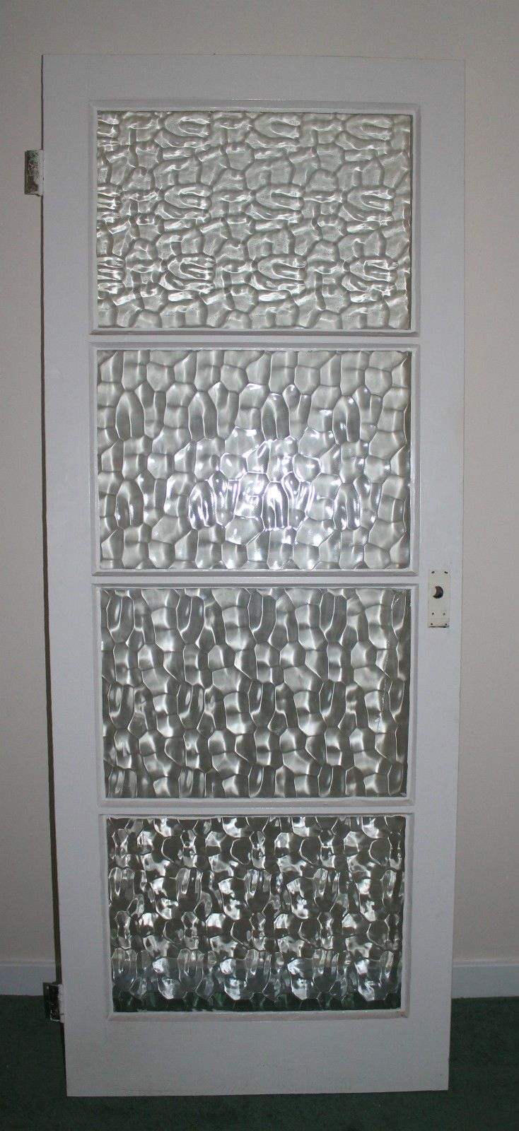 Internal Glazed Door Kitchen Gl 4 Panel Shaker White Interior Wood Patterned In Home Furniture Diy Materials Doors Accessories Ebay